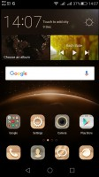 The homescreen keeps all your apps with only folders available for organization - Huawei G8 review