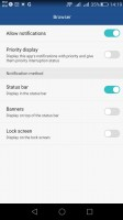 Extensive app permission management engine - Huawei G8 review