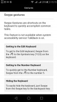 Huawei keyboard with Swype integration - Huawei G8 review