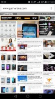Huawei Mate S review: The Stock browser and Google Chrome offer similar functionality
