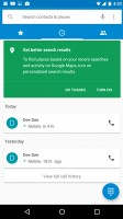 Making calls through the stock dialer app is pleasant - Huawei Nexus 6p review