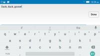 Google Keyboard - Lenovo Vibe Shot review