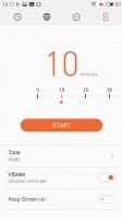 Meizu M1 Metal review: Clock