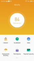 Meizu M1 Metal review: Security app