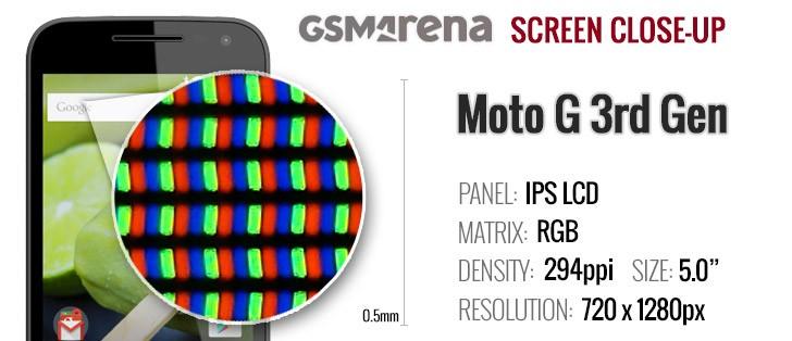 Moto G 3