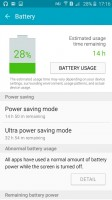 Samsung Galaxy J2 review: Battery use