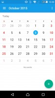 Sony Xperia Z5 Premium review: Calendar app