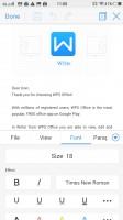 WPS office - Vivo V3Max  review