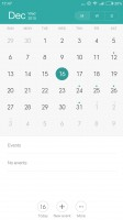 Calendar - Xiaomi Redmi Note 3 review