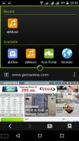 Multi-window works nice and simple - Acer Liquid X2 review