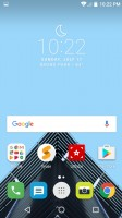 Standard Home screen - Alcatel Idol 4s preview
