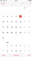 Calendar - Apple iPhone 7 Plus review