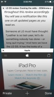 Safari - Apple iPhone SE review