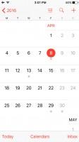 Calendar - Apple iPhone SE review