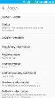 Settings - Asus Zenfone 3 ZE552KL preview