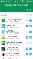 Data management options - Asus Zenfone Max ZC550KL review