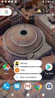 Launcher shortcuts are a way to interact with apps even when they are not open - Google Pixel XL review