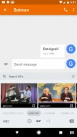 The GIF keyboard - Google Pixel XL review