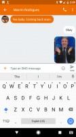 Go to Emojis - Google Pixel review