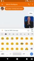 Tap the 'GIF' key - Google Pixel review
