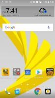 Home screen - HTC Bolt: First look
