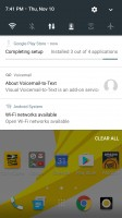 Notification Shade - HTC Bolt: First look