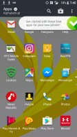 The popup told us to choose four free apps - HTC Bolt: First look