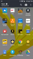 Entire app drawer after finishing setup - HTC Bolt: First look