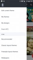 Theme categories - HTC Bolt: First look