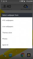 Wallpaper categories - HTC Bolt: First look