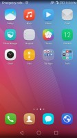 Homescreen page 2 - Huawei Honor 5x review