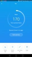 Health app homescreen - Huawei Mate 8 review
