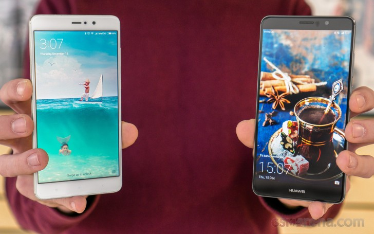 Huawei Mate 9 vs. Xiaomi Mi 5s Plus review