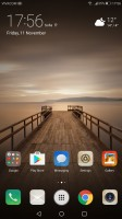 app drawer shortcut in the middle of the dock - Huawei Mate 9 review