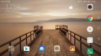 optional landscape homescreen - Huawei Mate 9 review
