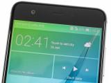 A peek at the front - Huawei nova review
