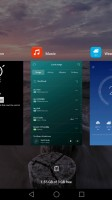 pull down to keep - Huawei nova review