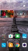 Default homescreen - Huawei nova review