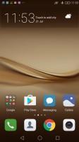 Default homescreen - Huawei P9 Plus review