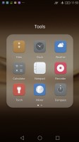 folders - Huawei P9 Plus review
