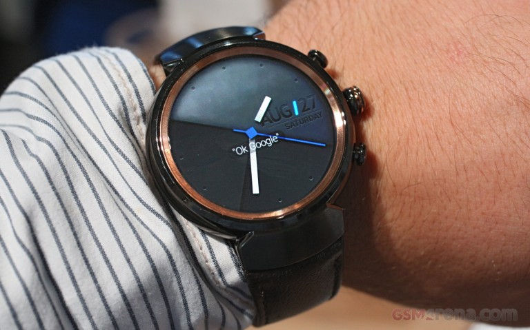 Asus At IFA 2016 Asus Zenwatch 3 Hands On