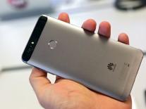 The Huawei Nova's metal build