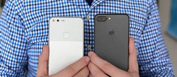 'iPhone 7 Plus vs. Pixel XL: Heavyweight title fight' from the web at 'https://cdn.gsmarena.com/imgroot/reviews/16/iphone-7-plus-pixel-xl/-347x151/gsmarena_000.jpg'