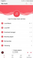 Music Player - LeEco Le Max 2 review