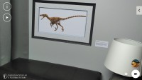 Four dinos to choose from in 3D or 2D virtual exhibits - Lenovo Phab2 Pro review