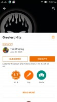 Familiar Google Play Music - Lenovo Vibe K4 Note review