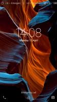 Default lockscreen - Lenovo Vibe K5 Plus review