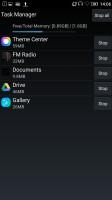 Task manager - Lenovo Vibe K5 Plus review
