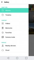The gallery easily integrates with DLNA and cloud photo sources - LG G5 review