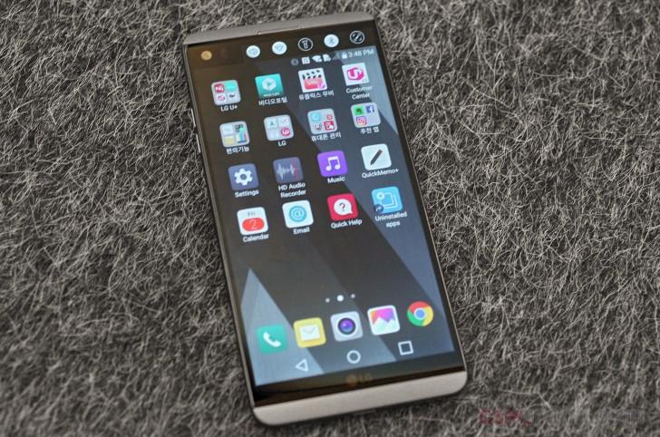 LG V20 Hands-on